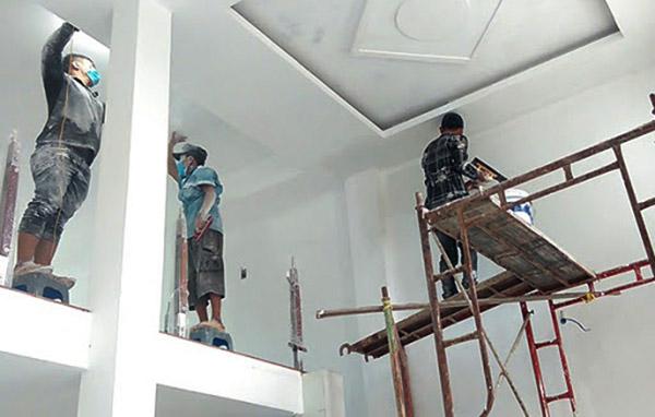 giá thi công sơn nhà sơn nước