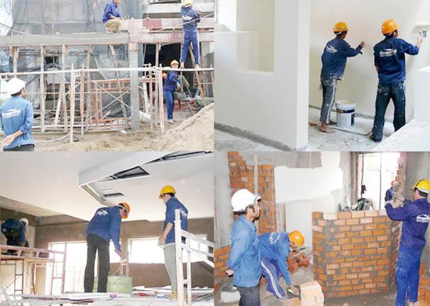 sơn sửa nhà trọn gói