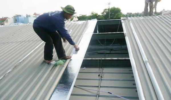 thợ chống dột mái tôn ở tphcm