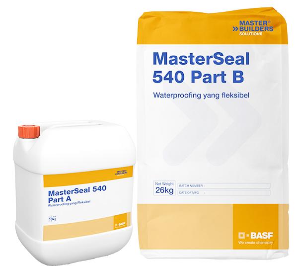 vữa Masterseal 540